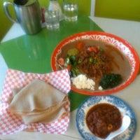 Photo taken at Jebena Cafe by Jacob R. on 8/29/2011