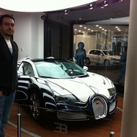 Photo taken at Bugatti | Automobil Forum Unter den Linden by Hakan™ on 10/27/2011