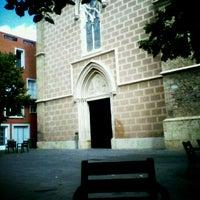 Photo taken at Plaça de l'Església de Santa Maria by Arianna C. on 9/10/2011