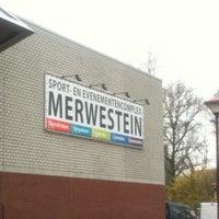 Photo taken at Zwembad Merwestein by Edwin V. on 3/14/2011