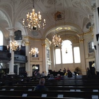 Photo taken at St Martin-in-the-Fields by matthew h. on 4/21/2012