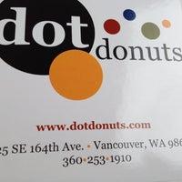 Photo taken at Dot Donuts by Brandie K. on 6/13/2012