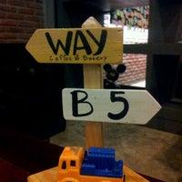 Photo taken at Way Coffee & Bakery by Jakrich U. on 11/25/2011