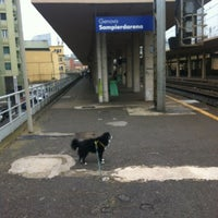 Photo taken at Genova Sampierdarena Railway Station by Amanda A. on 5/19/2012