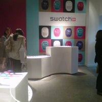 Photo taken at Swatch Showroom Victoria Square by Robyn O. on 11/5/2011