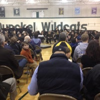 Photo taken at Dunckel Middle School by Christopher W. on 3/8/2012