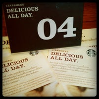 Photo taken at Starbucks Delicious All Day by Issaya P. on 8/7/2012