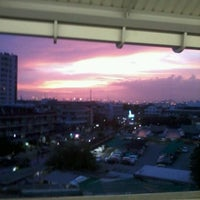 Photo taken at BTS Udom Suk (E12) by JajaaToffees L. on 6/23/2012