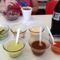 Photo taken at Tacos El Sonorense by Juan Ignacio T. on 6/24/2012