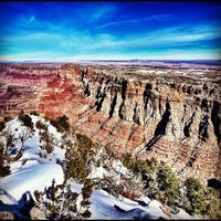 Photo taken at Desert View Watchtower by KH L. on 10/29/2011