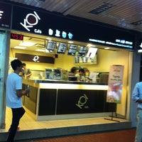 Photo taken at KOI Café by TerenceNacho on 6/25/2012