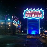 Photo taken at Marietta Fish Market by Brenda W. on 8/4/2012