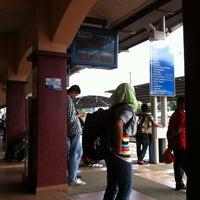 Photo taken at KTM Line - Sungai Buloh Station (KA08) by Ami halimah S. on 12/25/2011