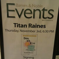 Photo taken at Barnes & Noble by JCS on 11/3/2011