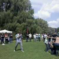 Photo taken at Quinta Los Ciervos by Mariano N. on 3/2/2012