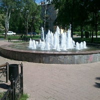 Photo taken at Памятник Л.Н. Толстому by Andrey Y. on 5/16/2012