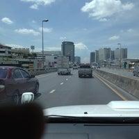 Photo taken at Borommaratchachonnani Intersection by korn S. on 8/22/2012