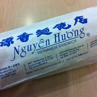 Photo taken at Nguyen Huong Vietnamese Sandwiches by aml a. on 3/11/2012