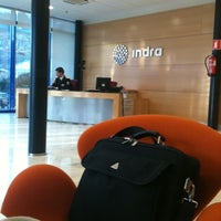 Photo taken at Indra Coruña by Isaac L. on 1/20/2011