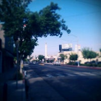 Photo taken at Tower District by Jose G. on 9/10/2011