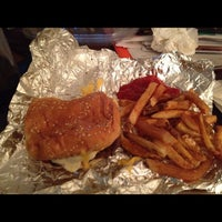 Photo taken at Five Guys by Clarence on 8/25/2012