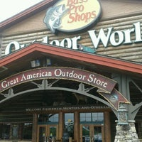 Photo taken at Bass Pro Shops by Lindsey F. on 5/29/2012