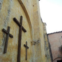 Photo taken at Piazza Sas Animas by Elisabetta G. on 7/28/2012