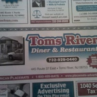Photo taken at Toms River Diner by Robyn R. on 5/13/2011