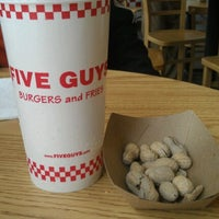 Photo taken at Five Guys by Avery S. on 6/13/2012