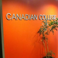 Photo taken at The Canadian College of English Language by Ricardo M. on 3/19/2012