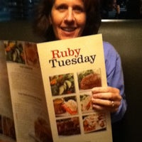 Photo taken at Ruby Tuesday by Doreen U. on 11/26/2011