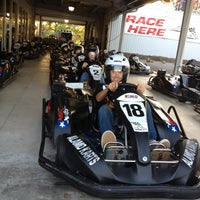 Photo taken at Alamo Karts by Sarah L. on 3/31/2012