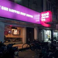 Photo taken at Cafe Coffee Day by Arjun S. on 5/28/2012