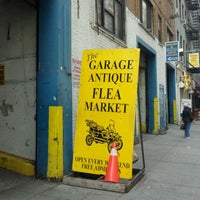 Photo taken at The Garage Antique Flea Market by Dino C. on 4/1/2012