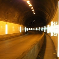 Photo taken at Armstrong Tunnel by Wendy C. on 11/9/2011