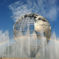 Photo taken at The Unisphere by Erica S. on 7/22/2012