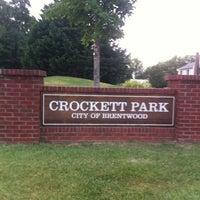 Photo taken at Crockett Park by J R. on 7/30/2011
