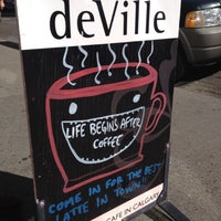 Photo taken at deVille Luxury Coffee & Pastries by Patricia G. on 9/1/2012
