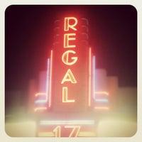 Photo taken at Regal Cinemas Village Park 17 by Ben M. on 11/24/2011