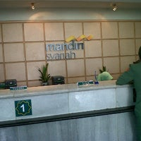 Photo taken at Bank Syariah Mandiri by sangaji b. on 1/16/2012