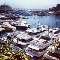 Photo taken at Port Palace Hotel Monte Carlo by Vlad M. on 8/18/2012