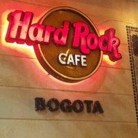Photo taken at Hard Rock Cafe Bogota by Jorge C. on 11/12/2011