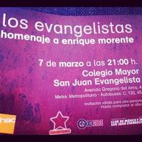 Photo taken at C.M.U. San Juan Evangelista by juan m. on 3/7/2012