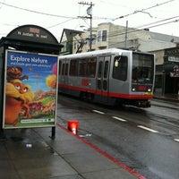 Photo taken at MUNI Metro Stop - 9th & Irving by Rosemarie M. on 3/1/2012