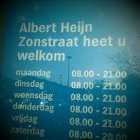 Photo taken at Albert Heijn by Nadi on 1/28/2012
