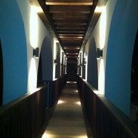 Photo taken at The Romanos, Costa Navarino by Guliz Erkan Dundar on 9/14/2011