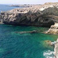 Photo taken at Punta Ristola by Daniele P. on 9/2/2011