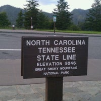 Photo taken at North Carolina / Tennessee State Line by Matt T. on 6/28/2011