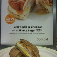 Photo taken at Au Bon Pain by Will A. on 1/5/2011