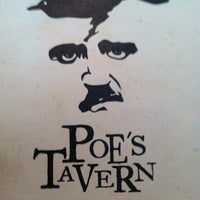 Photo taken at Poe's Tavern by Hagan K. on 4/23/2011